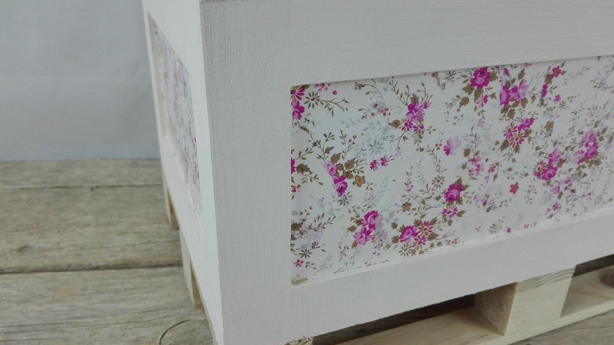 caja madera decoupage