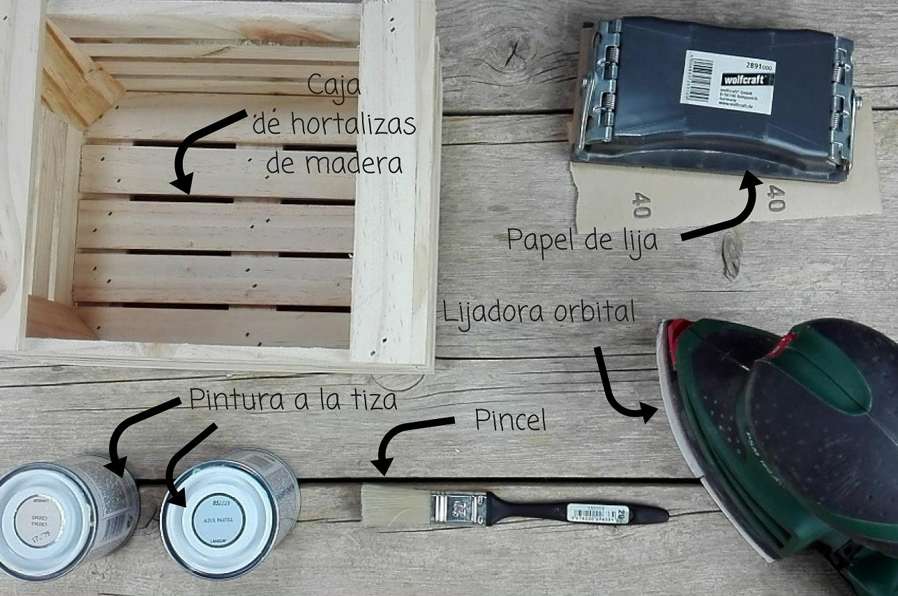 caja madera marinera