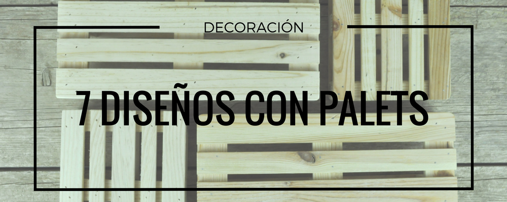 decorar con palets