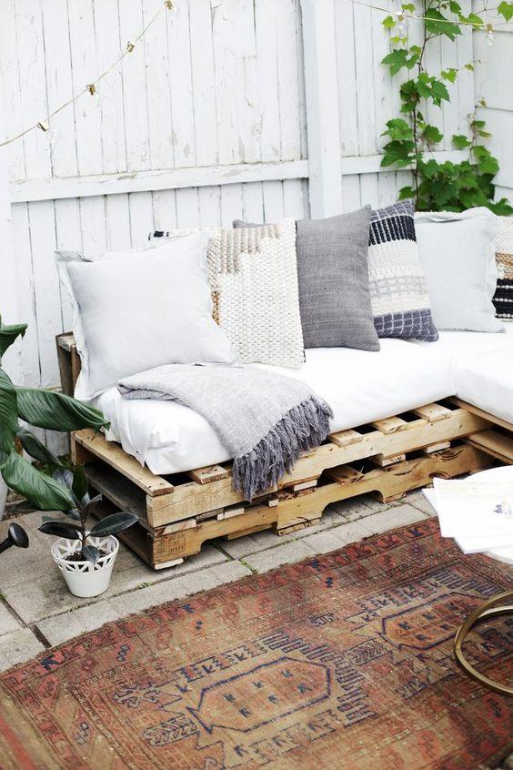 mueble palet exterior