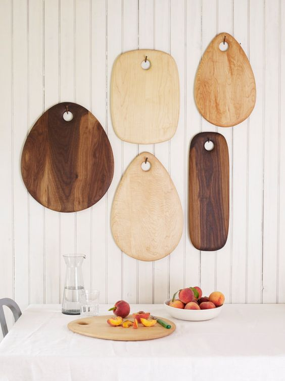 decorar con tablas de corte