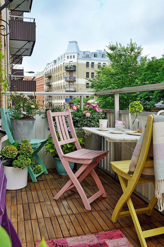 decoracion terrazas colores tendencia