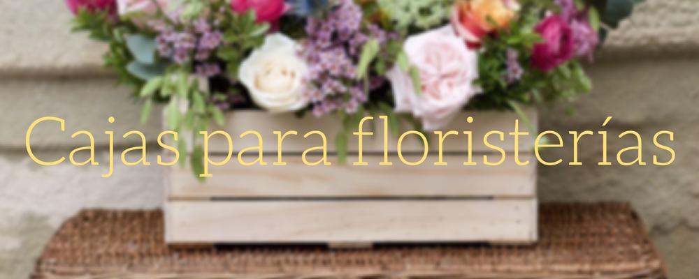 cajas para floristerias