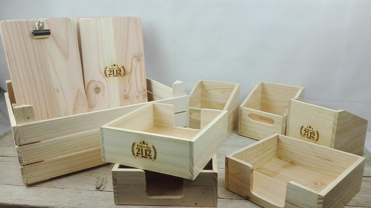 complementos madera hosteleria