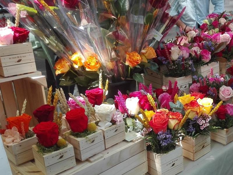 cajas madera floristerias