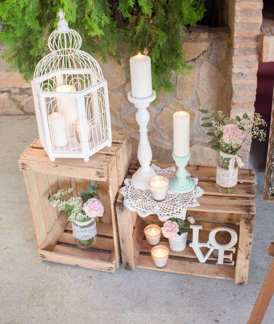 Cajas de madera para bodas tienda online complementos de madera - Cajas de madera online ...
