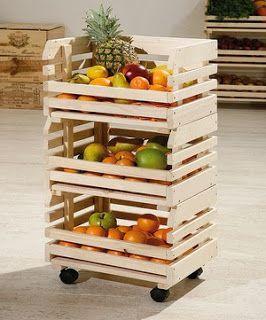 caja madera frutero