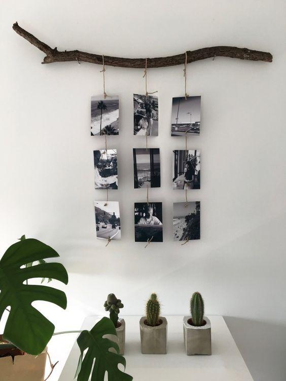4 maneras de decorar con troncos. Black Bedroom Furniture Sets. Home Design Ideas