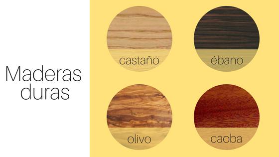 maderas duras