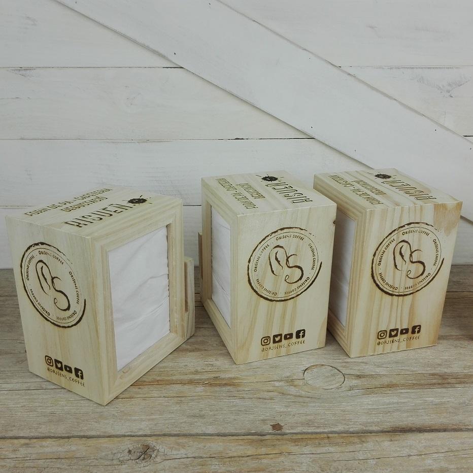servilletero madera hosteleria