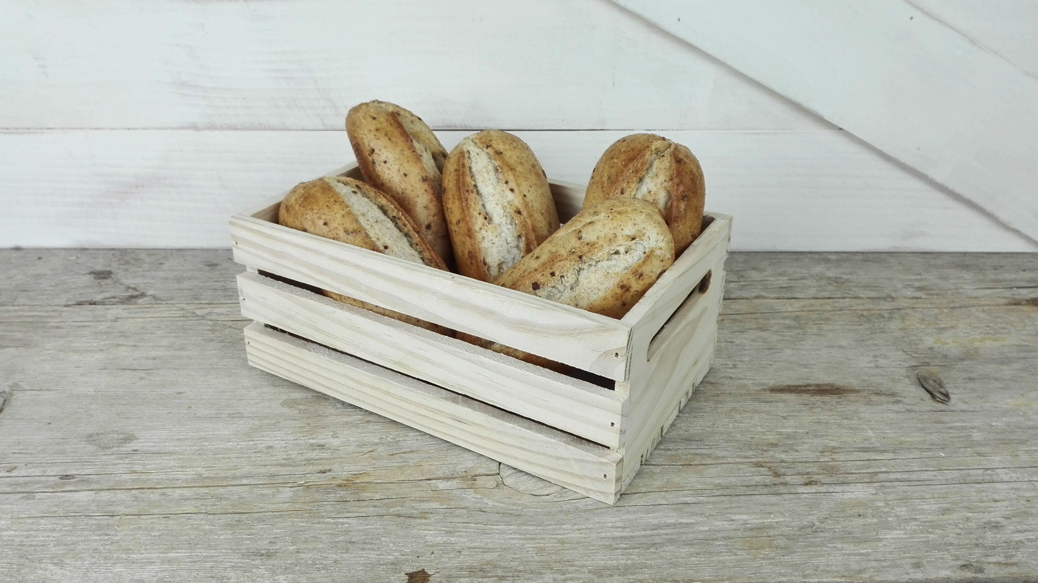 caja madera panera