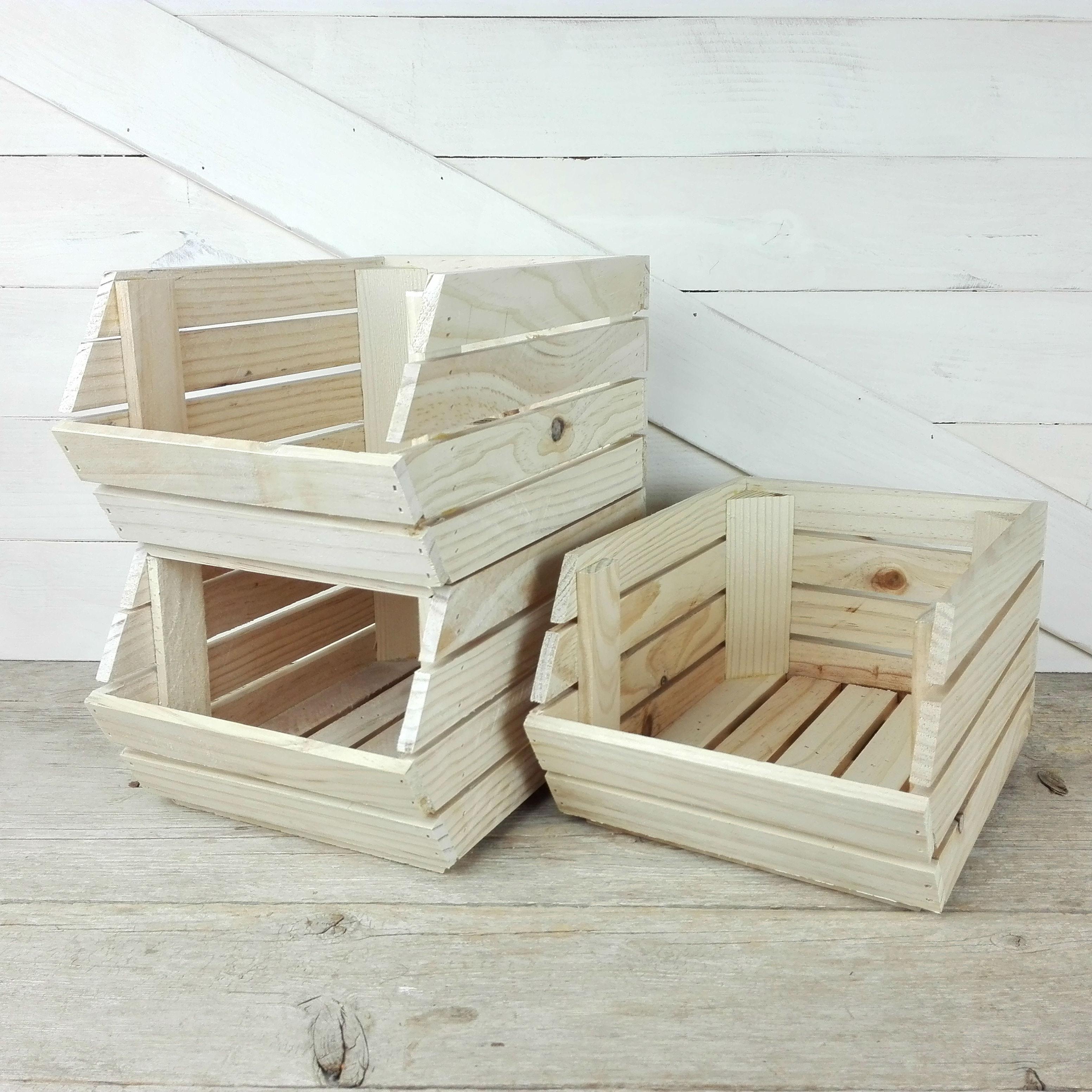 gavetas de madera