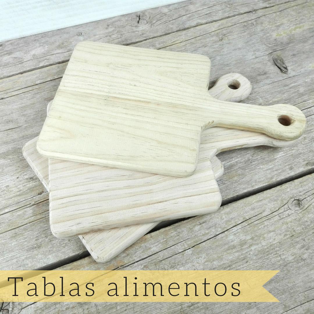 tablas madera hosteleria