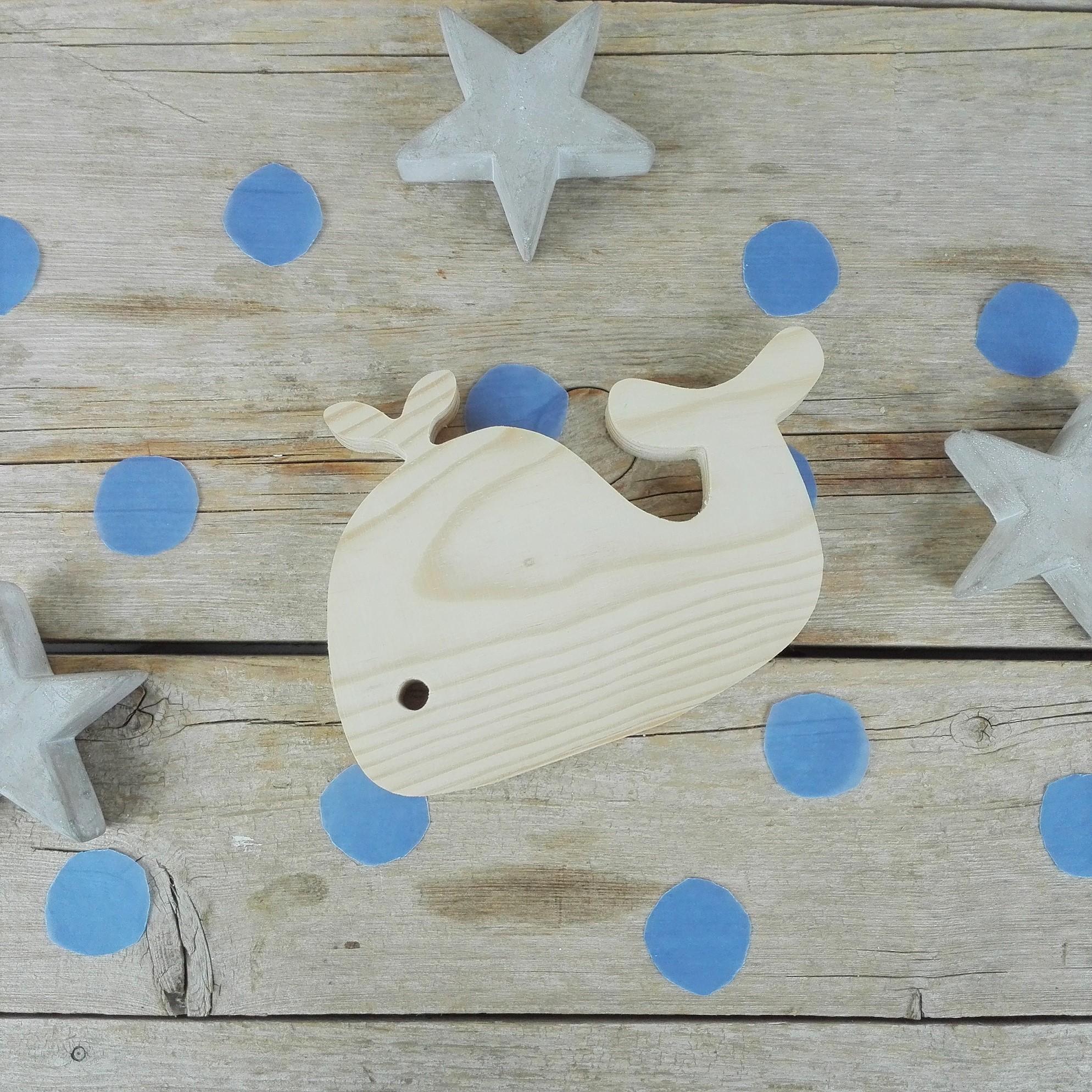 ballena madera decoracion