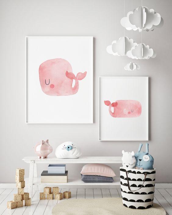 decorar paredes animales