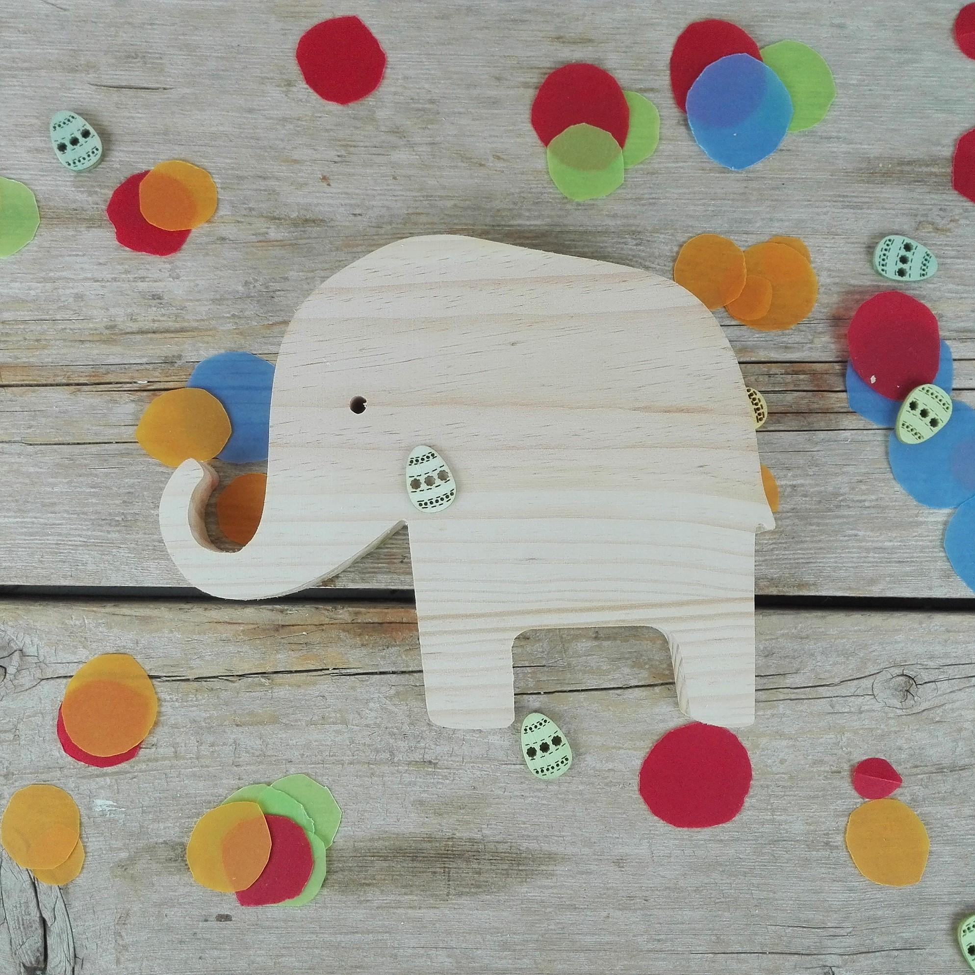 elefante de madera decoracion