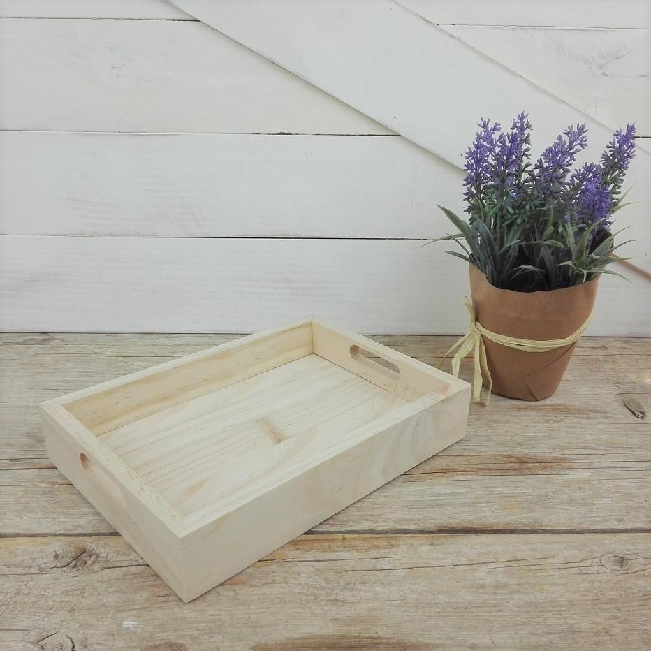 bandeja madera pequeña