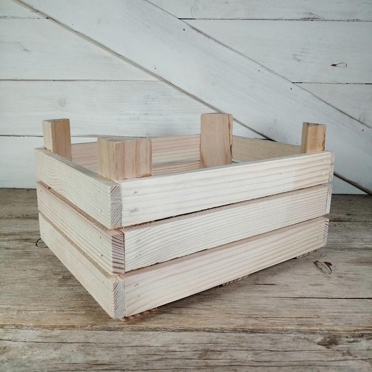 caja madera fruta