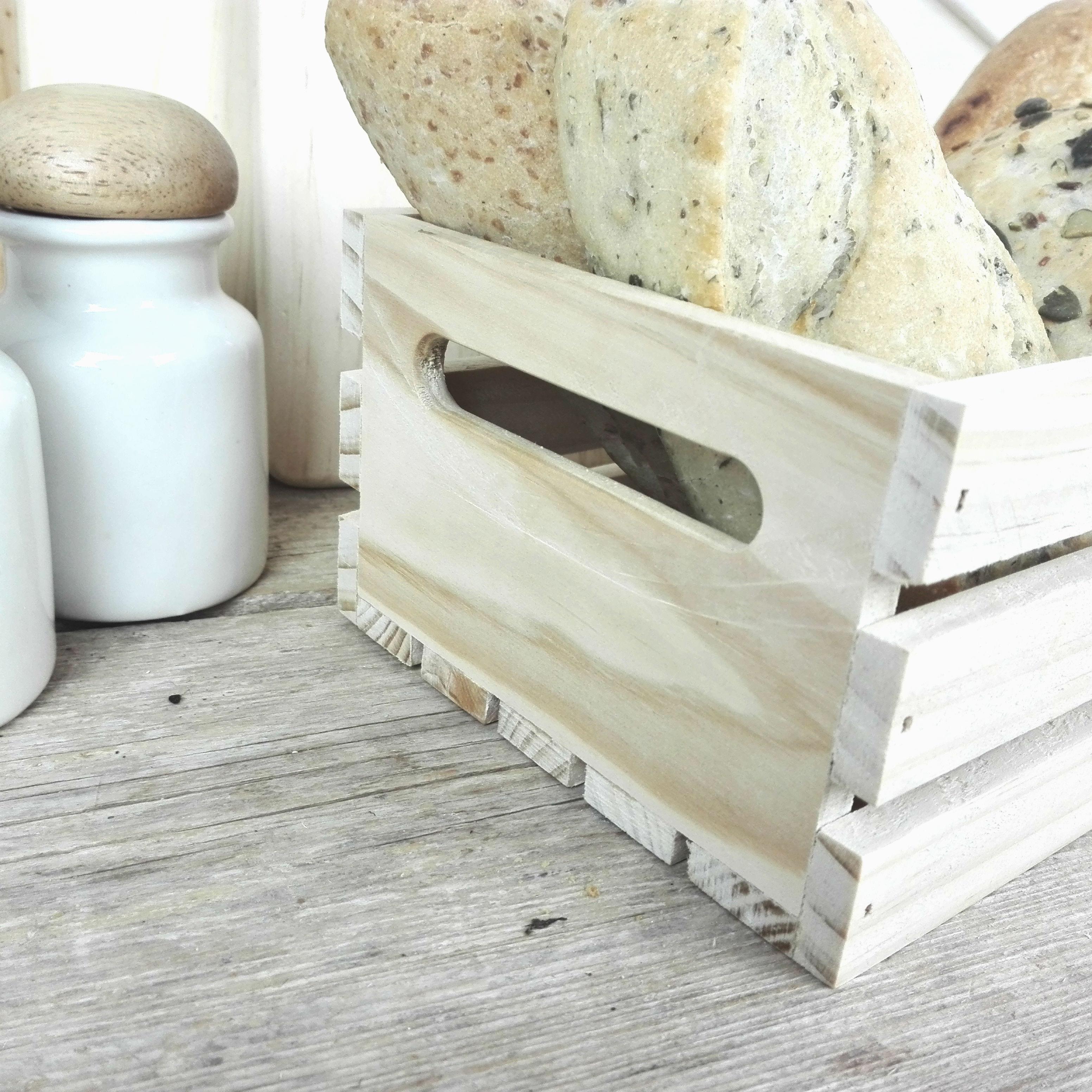caja de madera panera