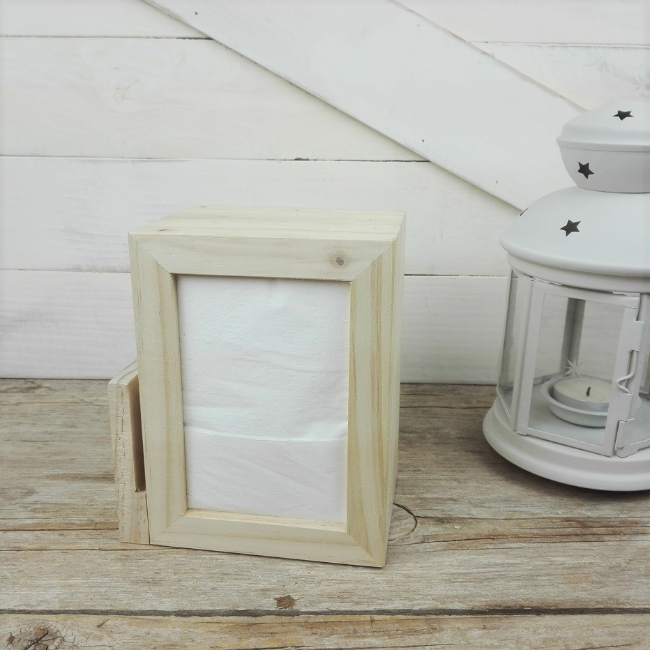servilletero de madera hosteleria