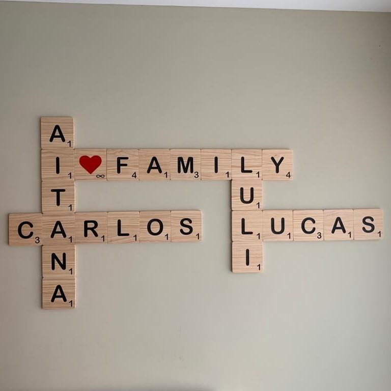 letras madera scrabble