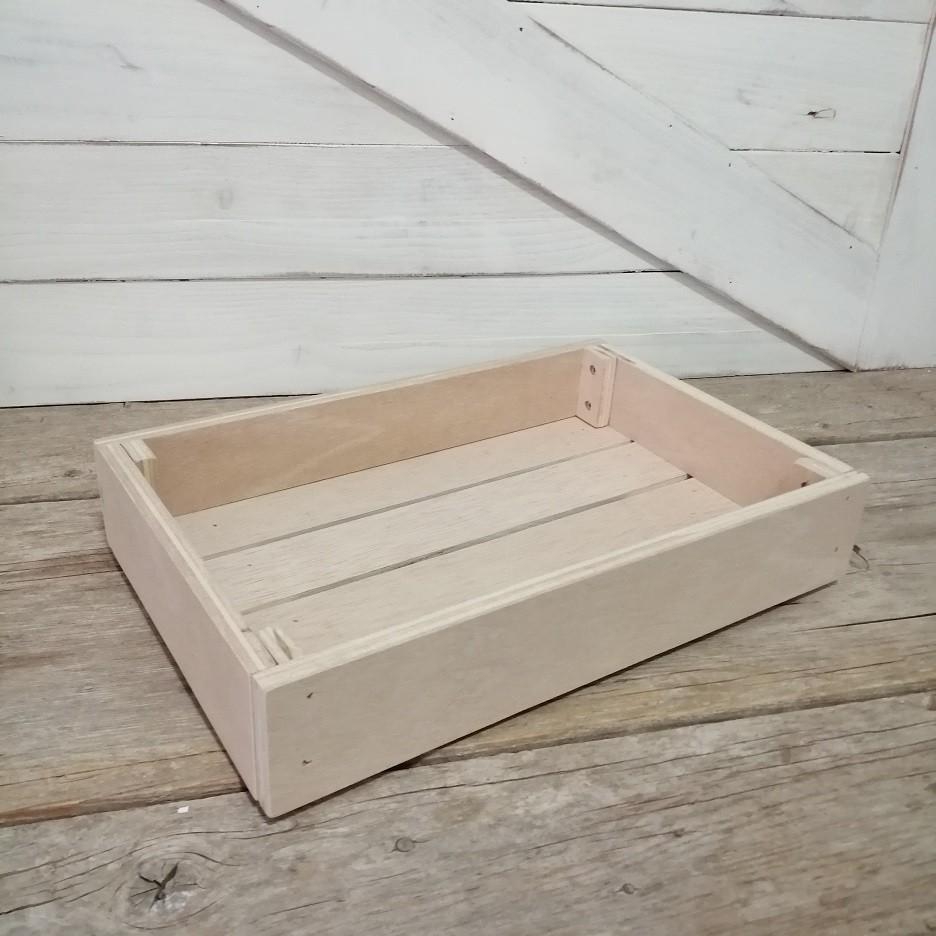 Bandeja de madera expositor - (Kit desmontable)