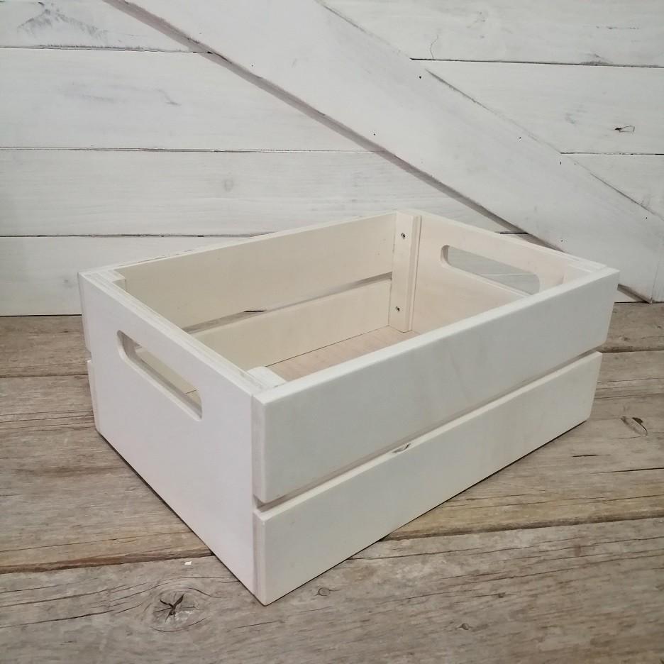 caja de madera desmontable
