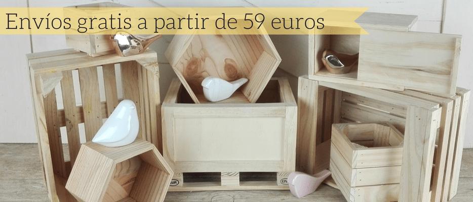 envios gratis complementos madera