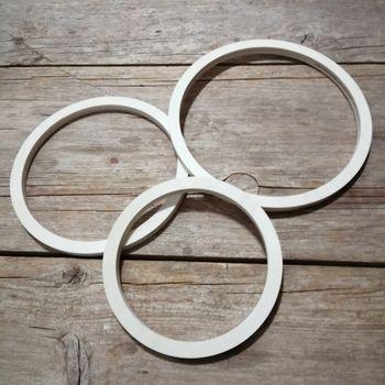 aros de madera manualidades